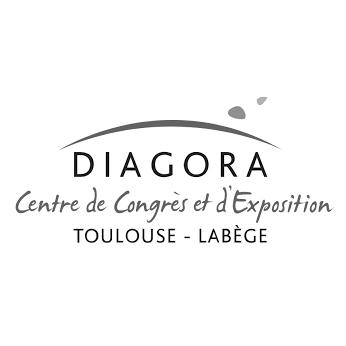 Logo Diagora Centre de congrès